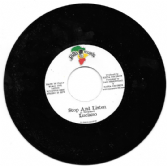 SALE ITEM - Luciano - Stop And Listen / Version (Satta Records) EU 7""